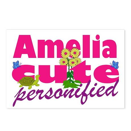 Cute Amelia Postcards (Package of 8)