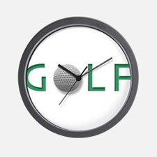 Cute Golf design Wall Clock