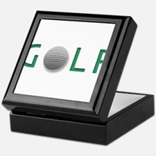 Cute Golf design Keepsake Box