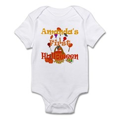 Amanda's First Halloween Infant Bodysuit