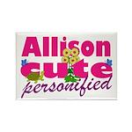 Cute Allison Rectangle Magnet