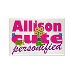 Cute Allison Rectangle Magnet (10 pack)