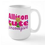 Cute Allison Large Mug