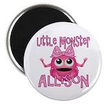 Little Monster Allison Magnet
