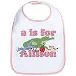 A is for Allison Bib
