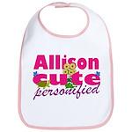 Cute Allison Bib