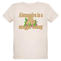 Alexandra is a Snuggle Bunny T-Shirt