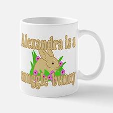 Alexandra is a Snuggle Bunny Mug