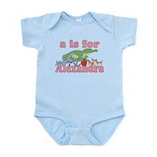 A is for Alexandra Infant Bodysuit