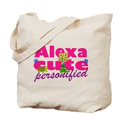 Cute Alexa Tote Bag