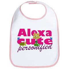 Cute Alexa Bib
