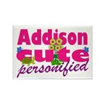 Cute Addison Rectangle Magnet (100 pack)