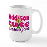 Cute Addison Large Mug