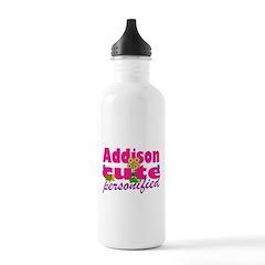 Cute Addison Water Bottle