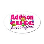 Cute Addison 22x14 Oval Wall Peel