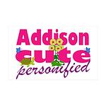 Cute Addison 38.5 x 24.5 Wall Peel