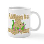 Addison is a Snuggle Bunny Mug