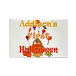 First Halloween Addison Rectangle Magnet