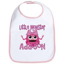 Little Monster Addison Bib