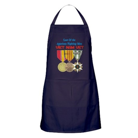 Last of the Fighting Men Apron (dark)