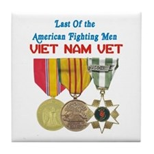 Last of the Fighting Men Tile Coaster