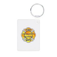 Firefighters Girlfriend Keychains