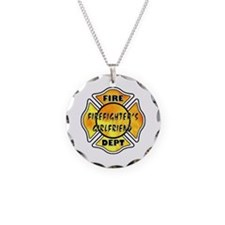 Firefighters Girlfriend Necklace