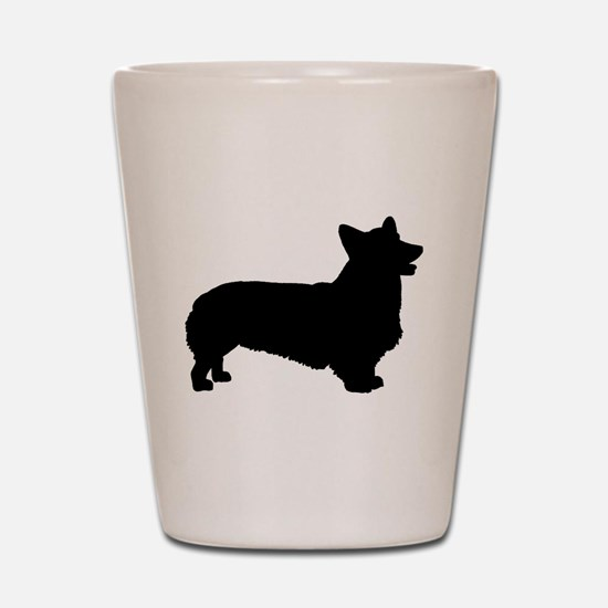 Pembroke Welsh Corgi Shot Glass