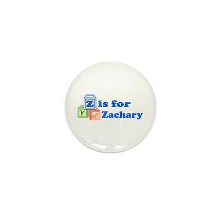 Baby Blocks Zachary Mini Button (10 pack)