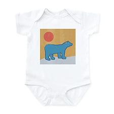 Blue Bear Infant Creeper