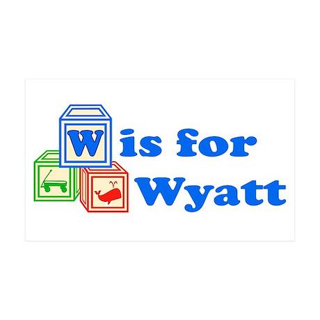 Baby Blocks Wyatt 38.5 x 24.5 Wall Peel