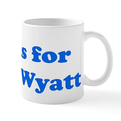 Baby Blocks Wyatt Mug