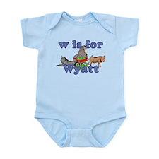 W is for Wyatt Infant Bodysuit