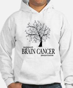 Brain Cancer Tree Jumper Hoody