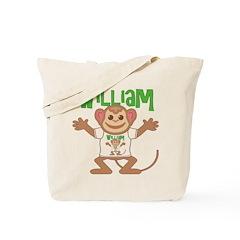 Little Monkey William Tote Bag