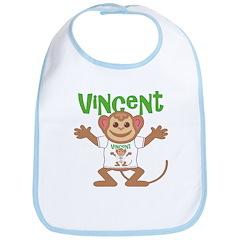 Little Monkey Vincent Bib