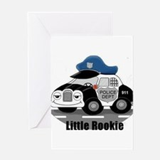 Little Rookie Greeting Card