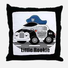 Little Rookie Throw Pillow