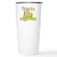 Victor is a Snuggle Bunny Travel Mug