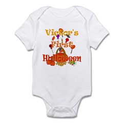 Victor's First Halloween Infant Bodysuit