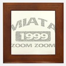 99 MIATA ZOOM ZOOM Framed Tile