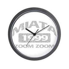 99 MIATA ZOOM ZOOM Wall Clock