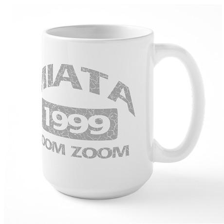 99 MIATA ZOOM ZOOM Large Mug