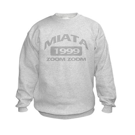 99 MIATA ZOOM ZOOM Kids Sweatshirt