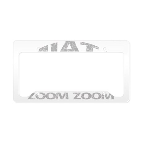99 MIATA ZOOM ZOOM License Plate Holder