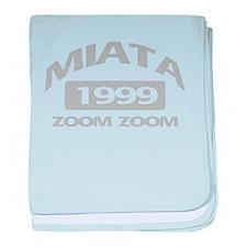 99 MIATA ZOOM ZOOM baby blanket