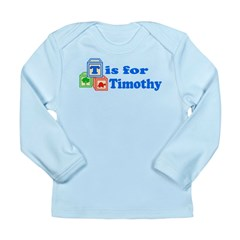 Baby Blocks Timothy Long Sleeve Infant T-Shirt