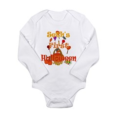 First Halloween Seth Long Sleeve Infant Bodysuit