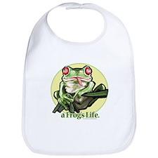A Frog's Life Bib