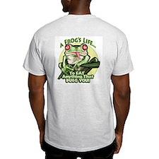 A Frog's Life Ash Grey T-Shirt